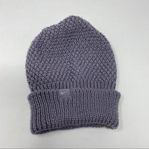 Nike Knit Hat Purple